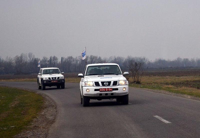 ОБСЕ провела мониторинг на линии соприкосновения ВС Азербайджана и Армении