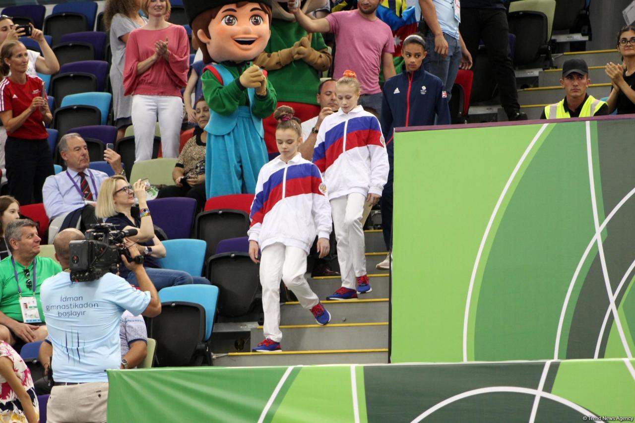 EYOF Baku 2019: Российская гимнастка заняла первое место в индивидуальном многоборье