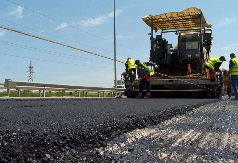 В Азербайджане ремонтируют одну из главных региональных автодорог