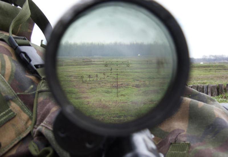 Армянские снайперы вновь обстреляли азербайджанские позиции