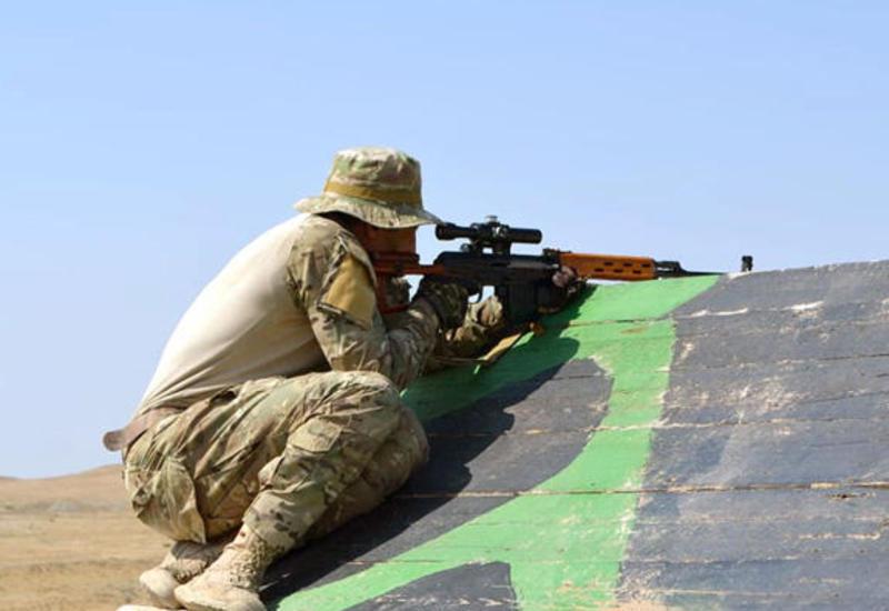 Азербайджанские военнослужащие отправились в Беларусь