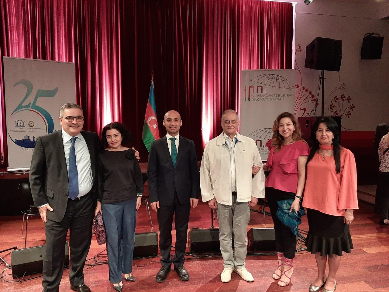 В Брюсселе провели научный коллоквиум «Имадеддин Насими и мировая литература»