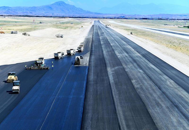 Продолжается строительство второй взлетно-посадочной полосы в Нахчыване