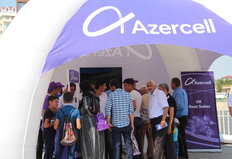 Путешествие Azercell в Нахчыванскую АР прошло с большим успехом