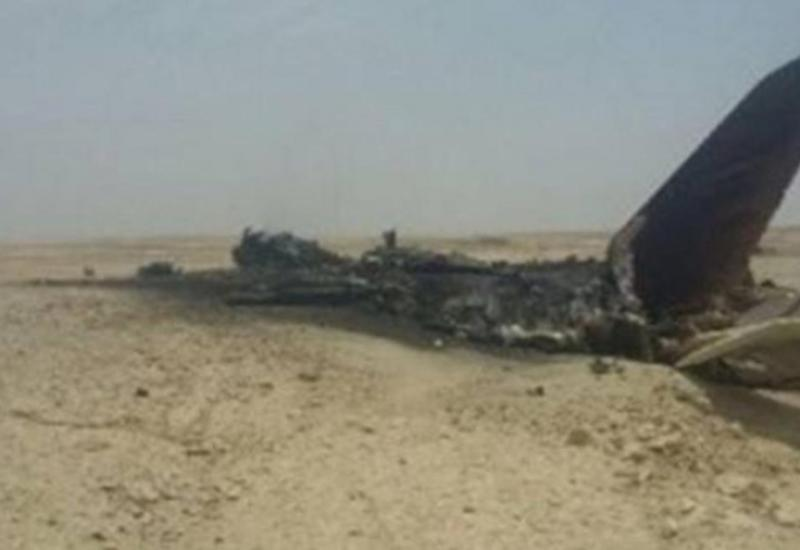 В Иране разбился истребитель