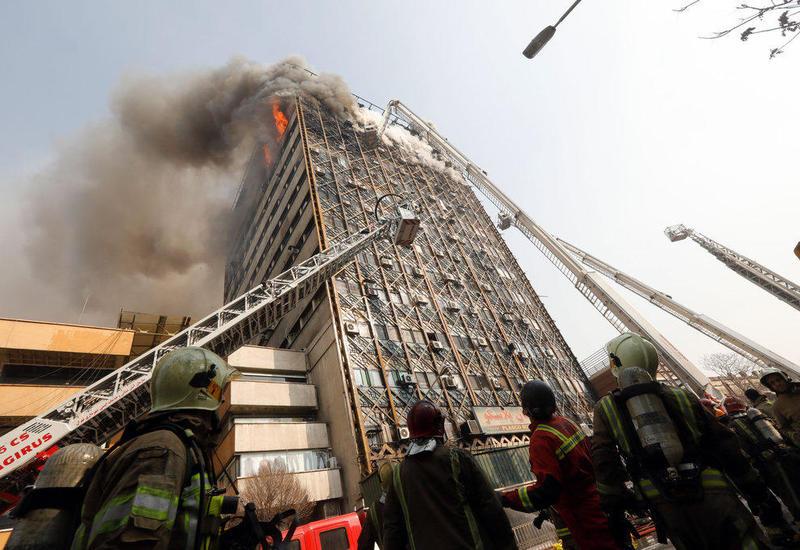 В министерстве нефти Ирана произошел пожар