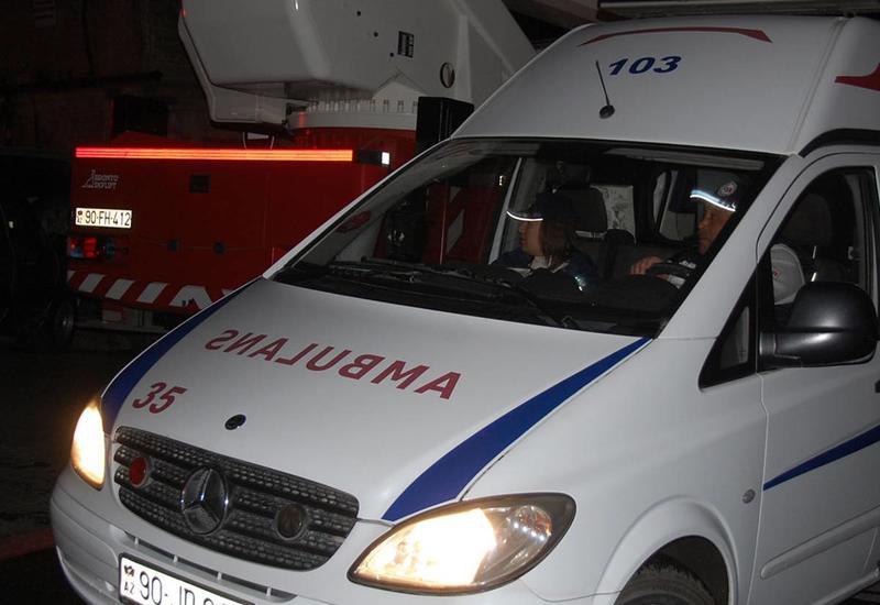 В Шеки в частном доме прогремел взрыв, есть пострадавший