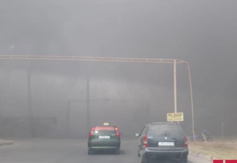 На заводе в Сумгайыте произошел сильный пожар