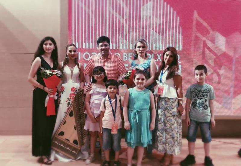 Проект Филармонии «Gənclərə dəstək» принял участие в Габалинском фестивале