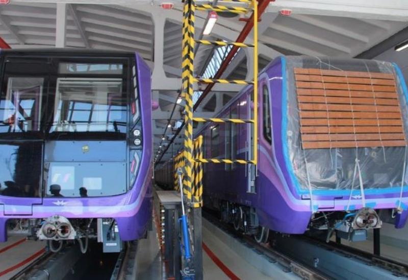 В бакинском метро появятся два новых поезда