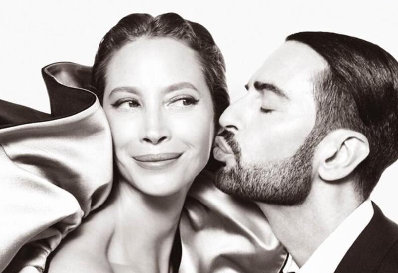 Кристи Тарлингтон и Марк Джейкобс в новой рекламной кампании