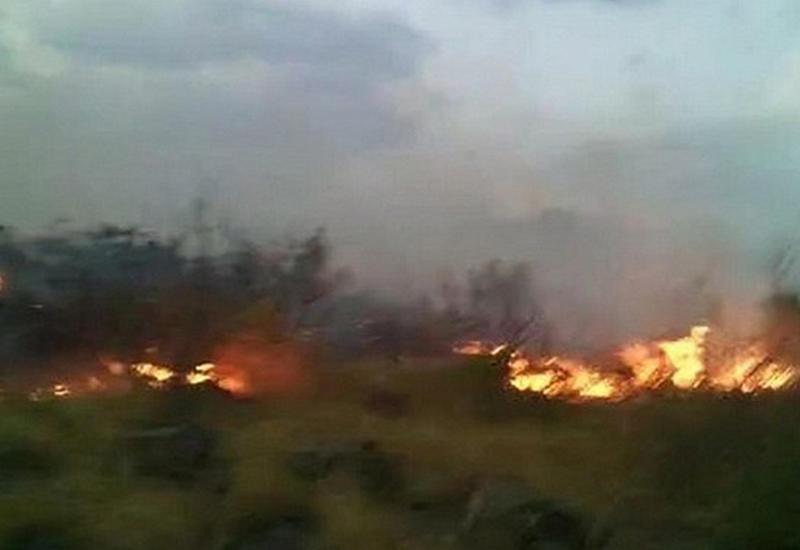 Ереван снова горит