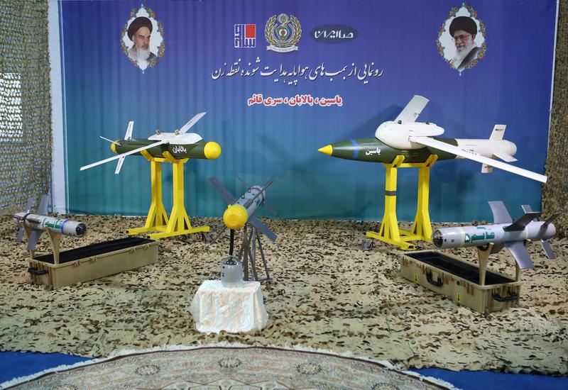 Иран презентовал новые управляемые ракеты