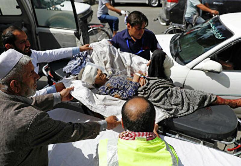 В Кабуле прогремел мощный взрыв, более 90 пострадавших
