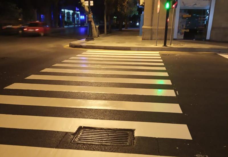 В Баку повышают уровень безопасности дорожного движения