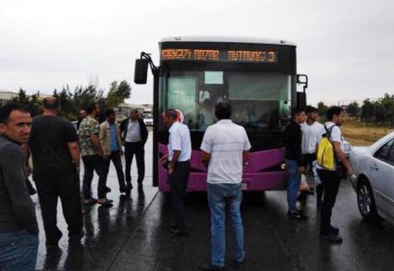 В Сумгайыте водитель автобуса скончался за рулем