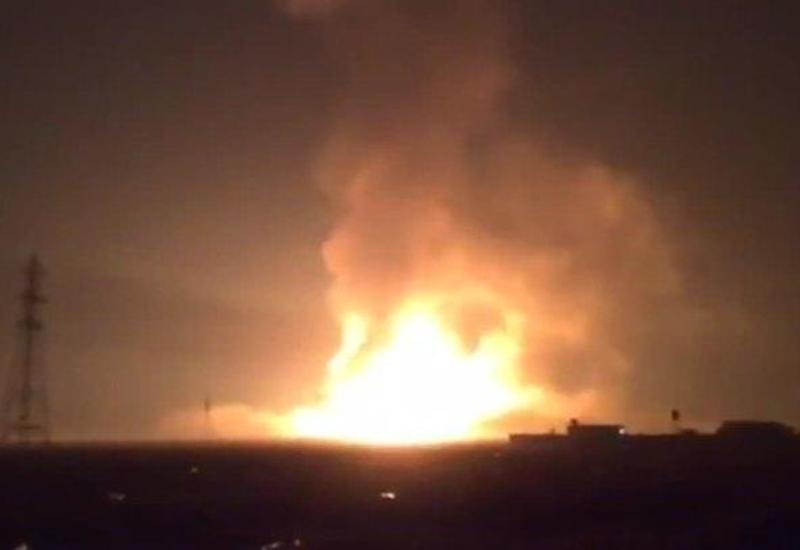 На военном складе в Турции произошел мощный взрыв