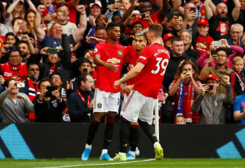 «Манчестер Юнайтед» разгромил «Челси»