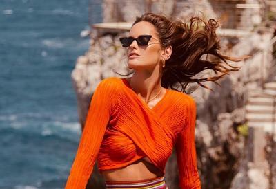 Самые красивые фотографии Изабель Гулар с отдыха в Италии