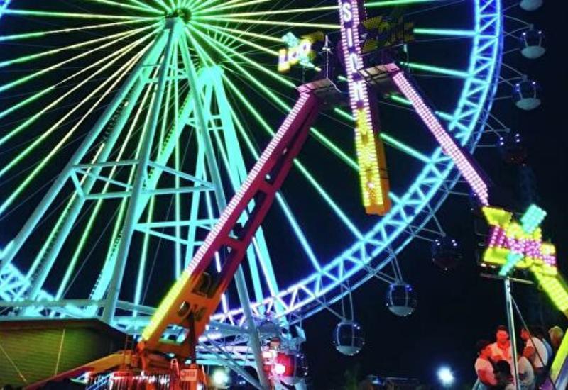 В Анталье открылось самое высокое в Турции колесо обозрения