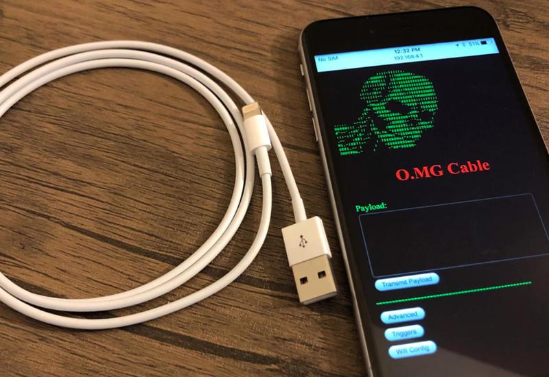 Инструмент для взлома компьютера спрятали в кабель для iPhone