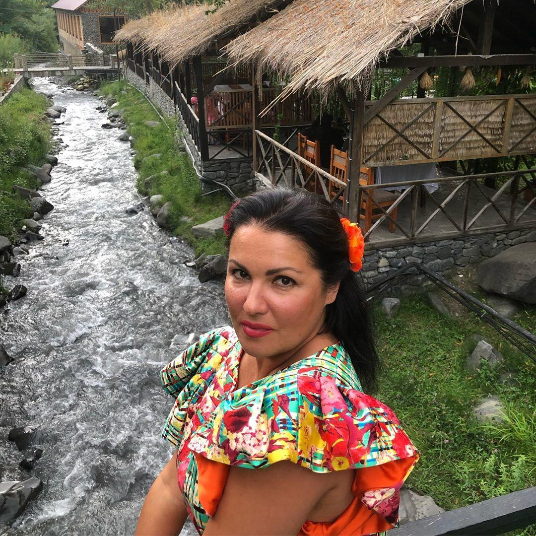 Анна Нетребко и Юсиф Эйвазов отдыхают в Габале