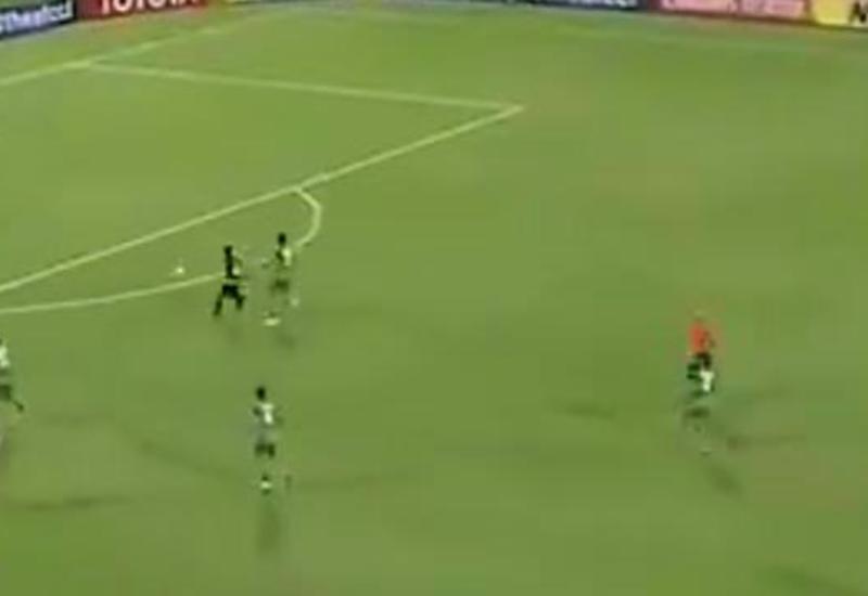 Ошибка вратаря привела к курьезному голу на Лиге чемпионов Азии