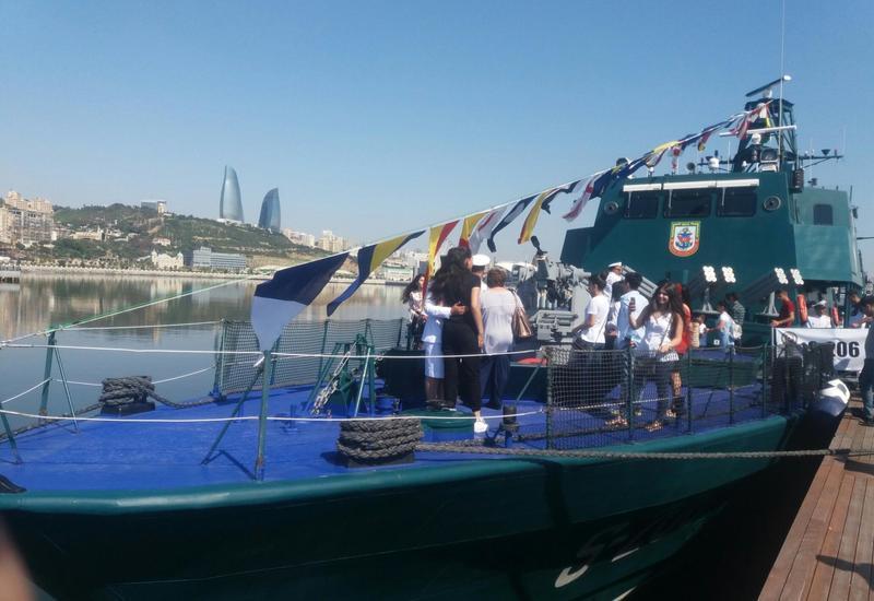 "Военная выставка в Баку: представлен азербайджанский корабль ""Tufan"""