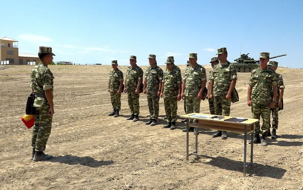 В Нахчыване прошли занятия по командирской подготовке