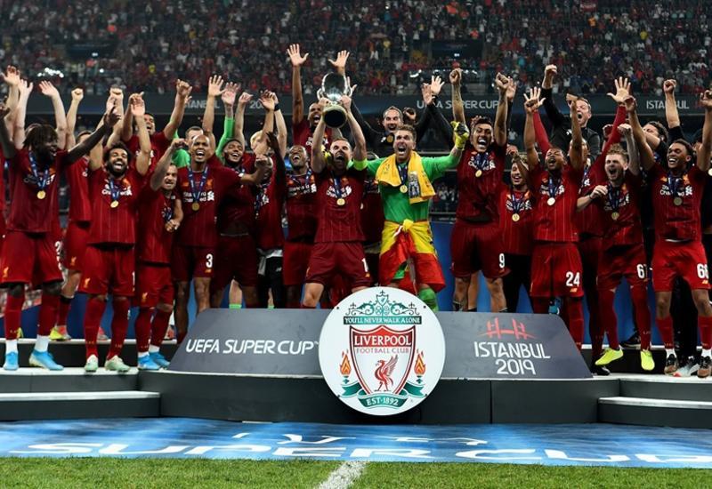 «Ливерпуль» завоевал Суперкубок УЕФА