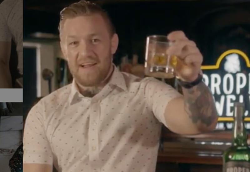 Макгрегор напал на посетителя бара за отказ пить его виски