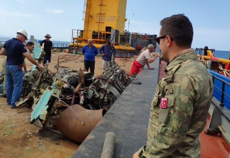 Найдены фрагменты потерпевшего крушение истребителя ВВС Азербайджана