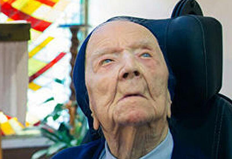 Французская монахиня стала самой пожилой жительницей Европы
