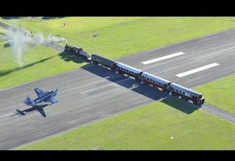 Почему в некоторых аэропортах самолеты приземляются на ж/д переезде или оживленной автостраде