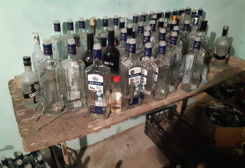 В Барде производили контрафактный алкоголь