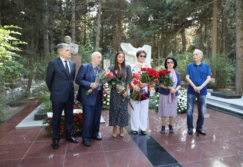 Вице-президент Фонда Гейдара Алиева Лейла Алиева приняла участие в мероприятии, посвященном памяти Муслима Магомаева