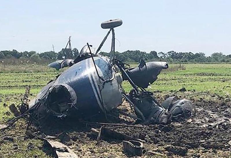 В Украине разбился вертолет