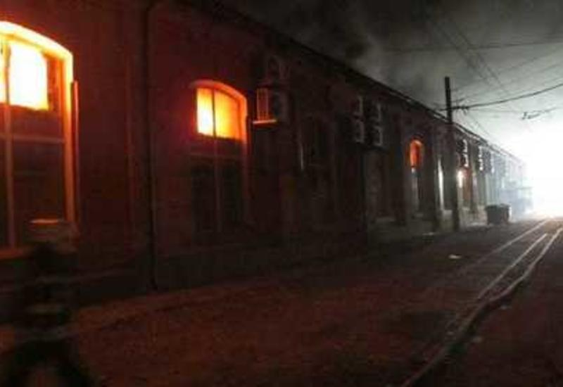 Пожар в одесском отеле, есть погибшие