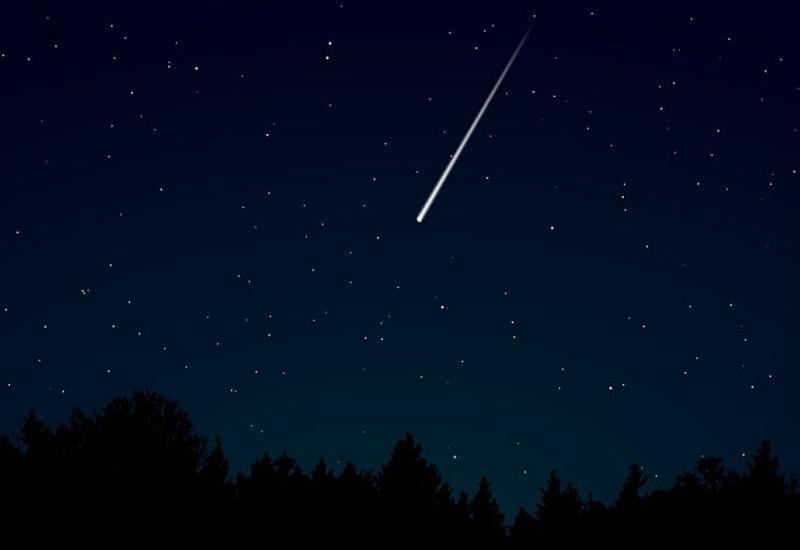 Падение огромного метеорита попало в Сеть