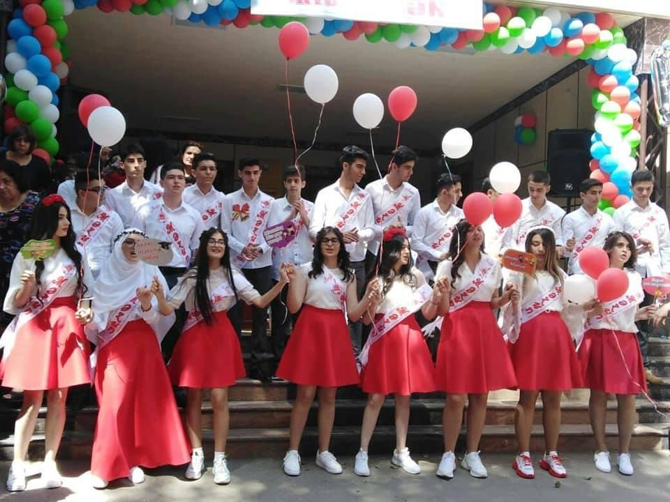 Ученики этих классов в Баку поступили в вузы в полном составе