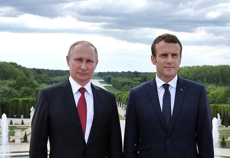 Путин и Макрон обсудили карабахскую проблему