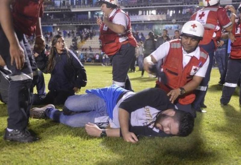 Массовая драка на стадионе в Гондурасе, есть жертвы