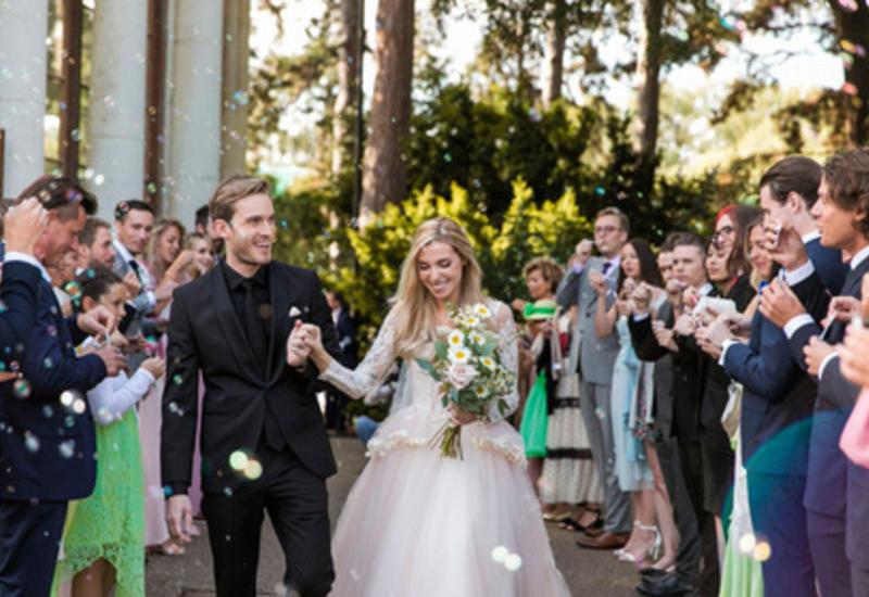 Самый популярный видеоблогер в мире женился