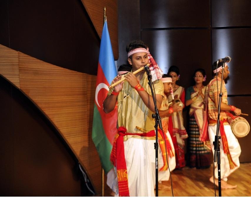 В Центре мугама состоялся музыкальный вечер индийских танцев