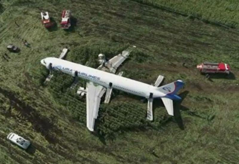 Аварийно севший в Подмосковье Airbus утилизируют