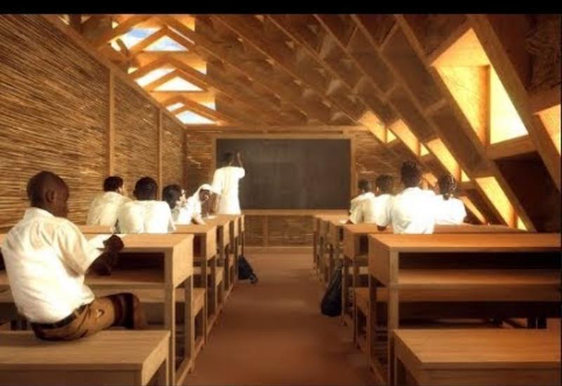 Почему архитекторы придумали для детей Малави школу из соломы