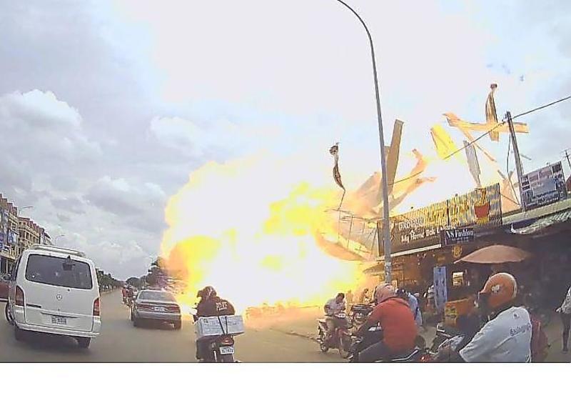 Нелегальная заправка сжиженного газа взлетела на воздух