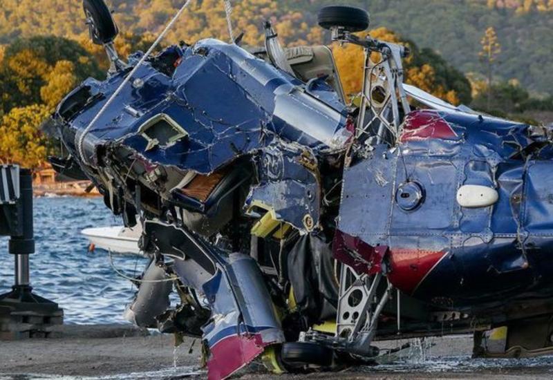 Очевидцы засняли момент крушения вертолета с россиянами в Греции
