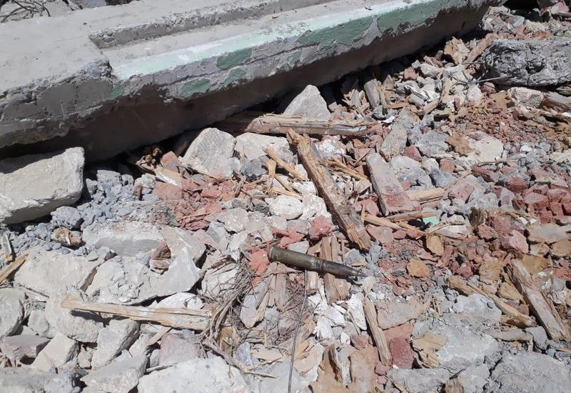 В Барде обнаружили артиллерийский снаряд