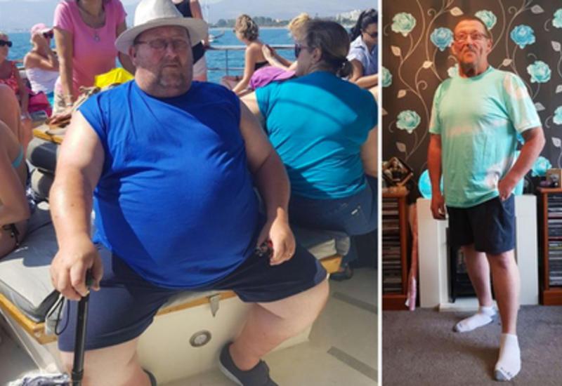 Умершая дочь заставила отца похудеть на 90 кг